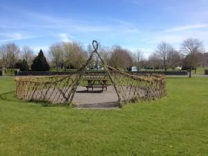 Holycross Village Seating Green