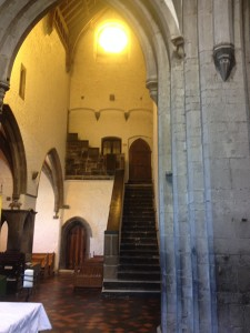 stairs in Abbey
